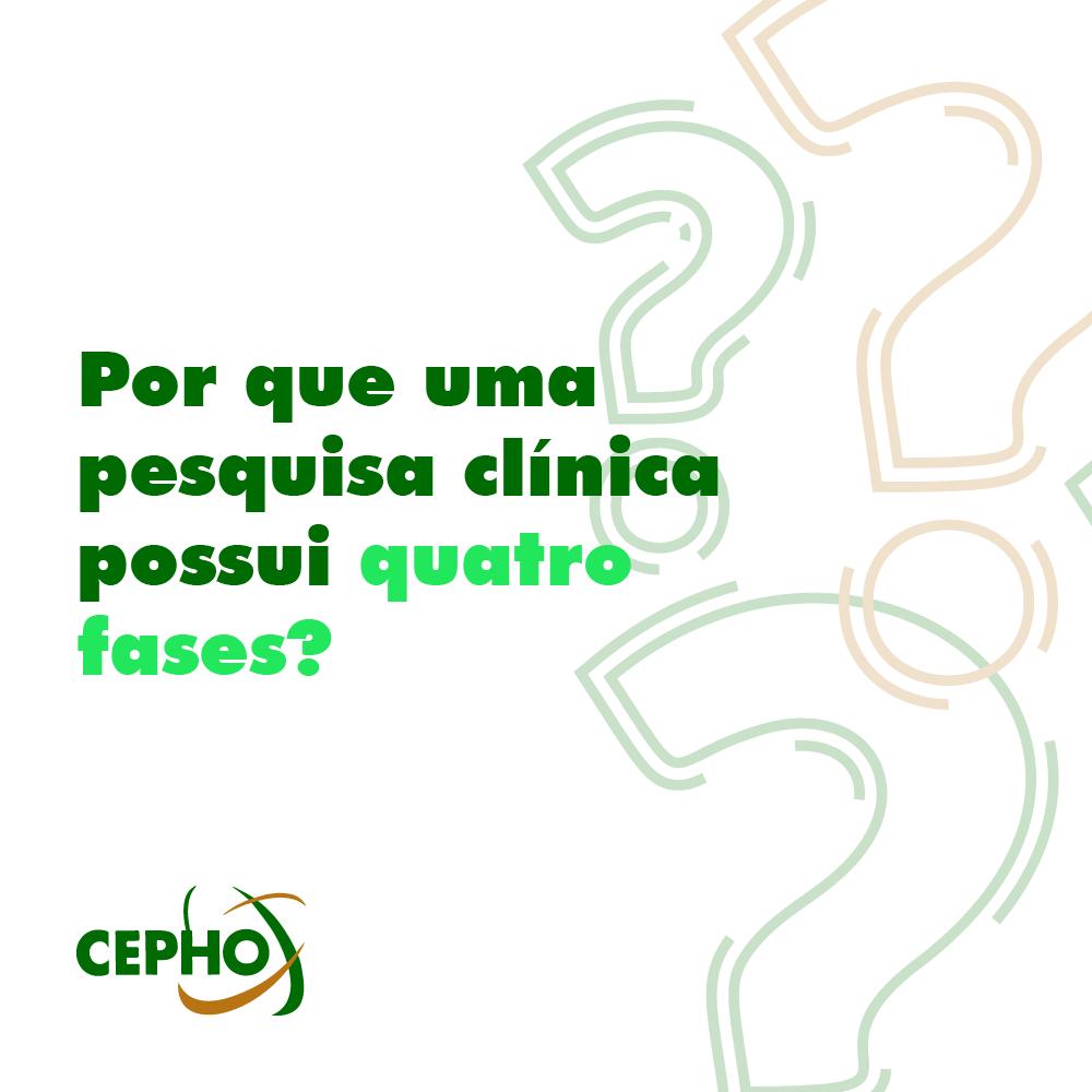 CEPHO - pesquisa clínica