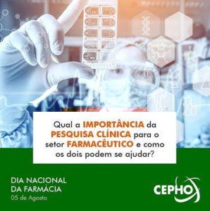 CEPHO - Pesquisa clínica farmacêutica